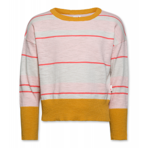 STRIPED BOATNECK logo