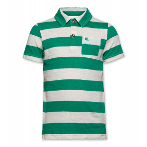 POLO SS STRIPED logo