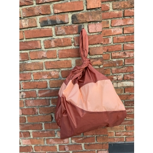 shoppingbag L rust&powder