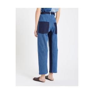 trousers evita patchwork