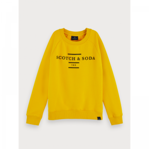 SCOTCH&SODA CREW NECK SWEAT logo