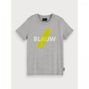 AMS BLAUW TEE logo