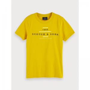 SCOTCH&SODA CREW NECK LOGO logo