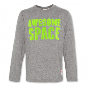 C-NECK SS T-SHIRT SPACE logo