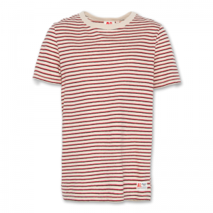 C-NECK SS T-SHIRT RED