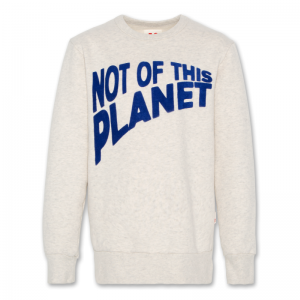 C-NECK SWEATER PLANET logo