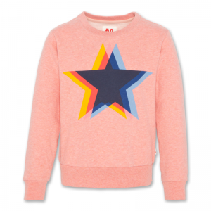C-NECK SWEATER STAR logo