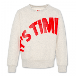 C-NECK SWEATER TIME logo