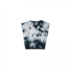 haley soft tie&dye sleeveless  logo