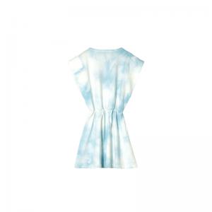 billie cloud blue tie&die slee logo