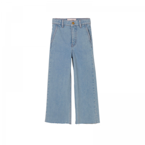 charlie loose fit cropped bleached blue