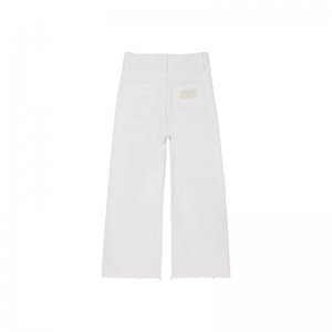 charlie loose fit cropped white