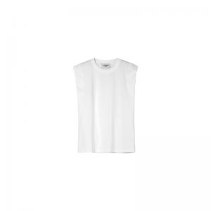 sc002white sleevless tshirt logo