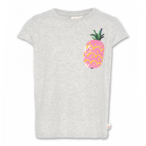 t-shirt c neck pineapple logo