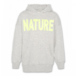 hoodie oversized nature logo