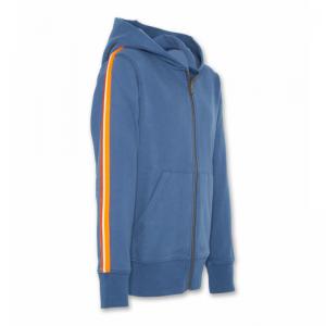 hoodie full ziptape mid blue