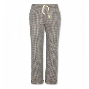 barry chino check pants logo
