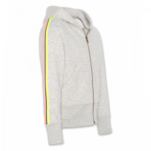 hoodie full zip tape light oxFORD