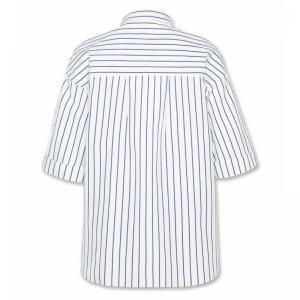 marie lola striped shirt blue