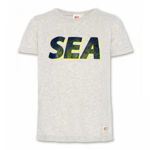 t-shirt c neck sea logo