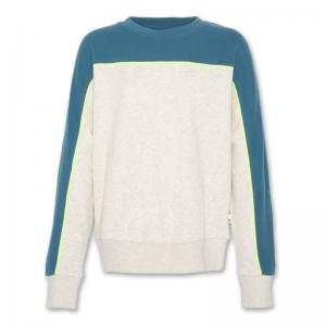 c-neck sweater block logo