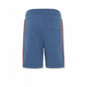 sweater shorts tape mid blue