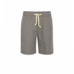andy check shorts logo