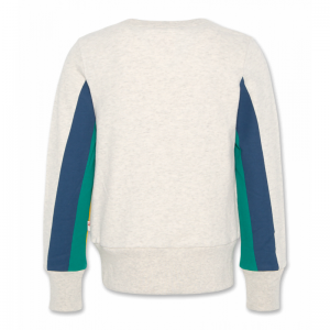 c-neck sweater stripes oyster