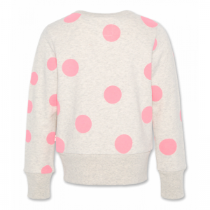 c-neck sweater dots oyster