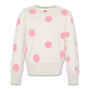 c-neck sweater dots logo