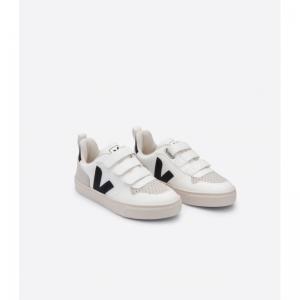small V10velcro cwl white blac white black
