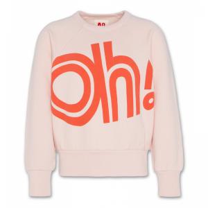 c-neck raglan sweater logo