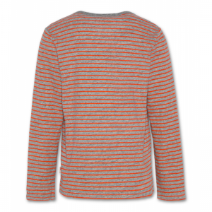 t-shirt cneck ls stripes 901oxford