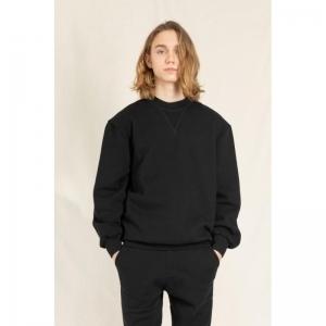 SC007 black comfort fit sweate black
